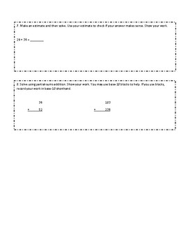 Everyday Math Grade 2 Unit 6 Review