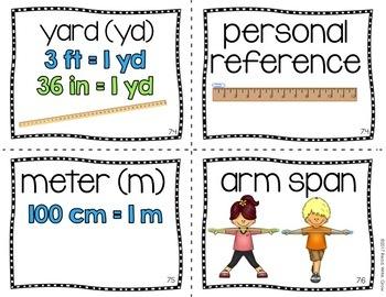 Everyday Math: Grade 2-Unit 7 {Vocabulary Word Wall}