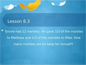 Everyday Math Grade 2 Unit 8 Math Messages