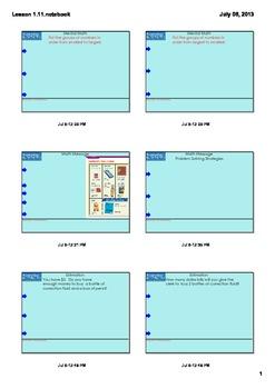Everyday Math Grade 3 - Lesson 1.11