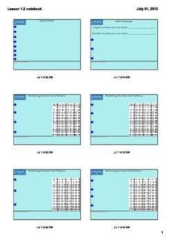 Everyday Math Grade 3 - Lesson 1.2