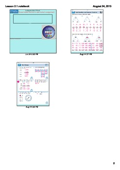 Everyday Math Grade 3 - Lesson 2.1