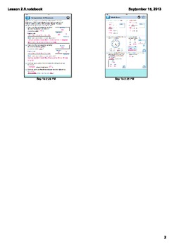 Everyday Math Grade 3 - Lesson 2.6