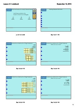 Everyday Math Grade 3 - Lesson 2.7