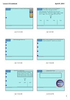 Everyday Math Grade 3 - Lesson 2.9