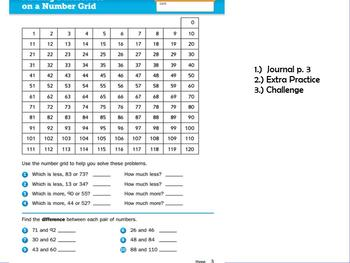 Everyday Math Grade 3 Unit 1 Lesson 1