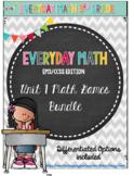 Everyday Math Grade 3 Unit 1 Math Games  EM3CCSS Edition