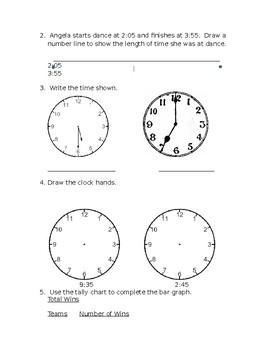 Everyday Math Grade 3 Unit 1 Study Guide