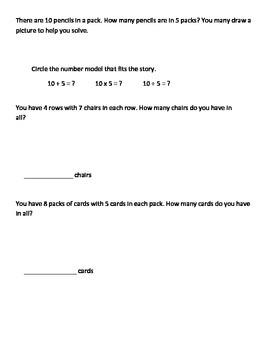 Everyday Math Grade 3 Unit 2 Pretest EM4