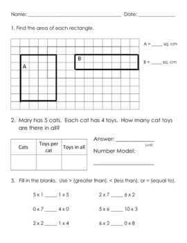 everyday math grade 3 unit 4 review worksheet by brooke beverly. Black Bedroom Furniture Sets. Home Design Ideas