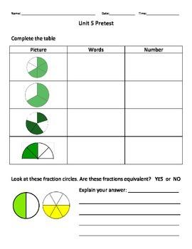 Everyday Math Grade 3 Unit 5 Pretest EM4