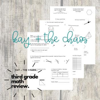 Everyday Math Grade 3 Unit 6 Take-Home Test