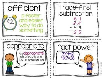 Everyday Math: Grade 3-Unit 6 {Vocabulary Word Wall}