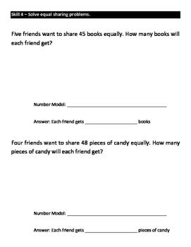 Everyday Math Grade 3 Unit 8 Study Guide EM4