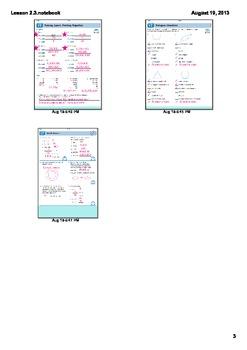 Everyday Math Grade 4 Lesson 2.3