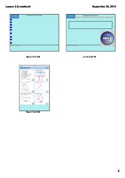 Everyday Math Grade 4 Lesson 2.5