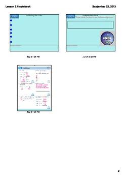 Everyday Math Grade 4 Lesson 2.6