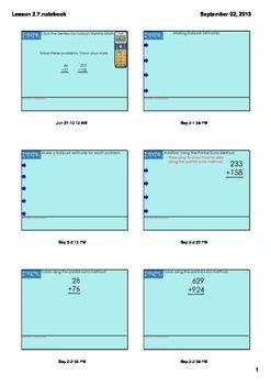 Everyday Math Grade 4 Lesson 2.7