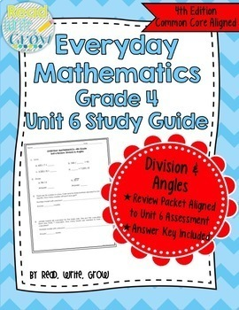 Everyday Math Grade 4 Study Guides {GROWING BUNDLE}