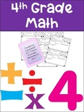 Everyday Math Grade 4 Unit 1 Exit Tickets