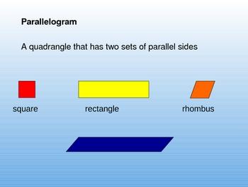 Everyday Math Grade 4 Unit 1 Geometry Powerpoint Slides