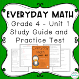 Everyday Math: Grade 4 Unit 1 Test Study Guide | Distance