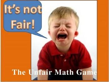 Everyday Math Grade 4 Unit 10 Review Unfair Game