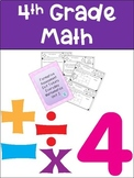 Everyday Math Grade 4 Unit 2 Exit Tickets