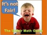 Everyday Math Grade 4 Unit 2 Review Unfair Game