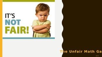 Everyday Math Grade 4 Unit 2 Review Unfair Game (CCSS Edition)