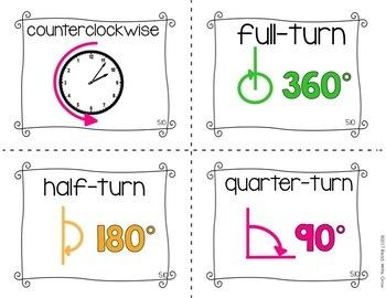 Everyday Math: Grade 4-Unit 5 {Vocabulary Word Wall}