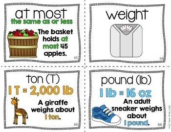 Everyday Math: Grade 4-Unit 6 {Vocabulary Word Wall}
