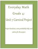 Everyday Math Grade 4 Unit 7 Project