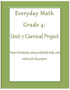 Everyday Math Grade 4 Unit 7 Project