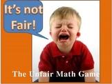 Everyday Math Grade 4 Unit 8 Review Unfair Game