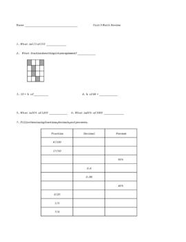Everyday Math Grade 4 Unit 9 Progress Check Review