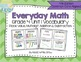 Everyday Math Grade 4 Vocabulary Word Wall {BUNDLE}