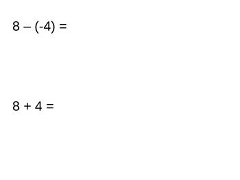 Everyday Math Grade 5 Lesson 7.9 - Subtraction of Positive and Negative Numbers