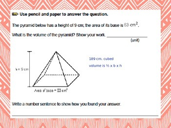 Everyday Math Grade 5 Unit 11 Volume Review