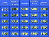 Everyday Math/ Grade 5/ Unit 2 Jeopardy