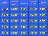 Everyday Math/ Grade 5/ Unit 2 Jeopardy