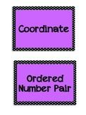 Everyday Math Grade 5 - Word Wall Vocabulary Units 1-9