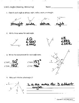 Everyday Math - Grade 6 Common Core - Unit 5 Quizzes and Keys