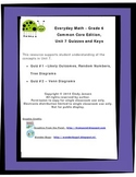 Everyday Math - Grade 6 Common Core - Unit 7 Quizzes and Keys