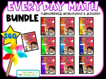 Everyday Math Growing Bundle First Grade - 4th Edition
