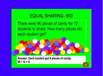 Everyday Math Jeopardy Unit 6 Grade 3
