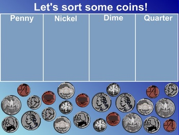 Everyday Math Kindergarten 1.11 Coin Comparisons