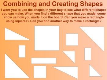 Everyday Math Kindergarten 1.15 Shape Puzzles
