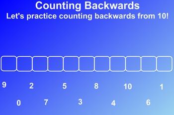 Everyday Math Kindergarten 1.4 Countdown to Zero