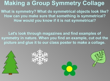Everyday Math Kindergarten 2.16 Symmetry in Nature